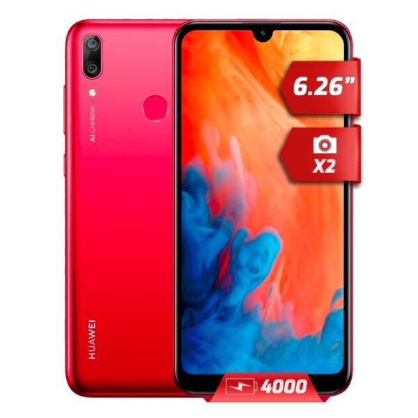 Huawei Y7 2019 32GB Rojo